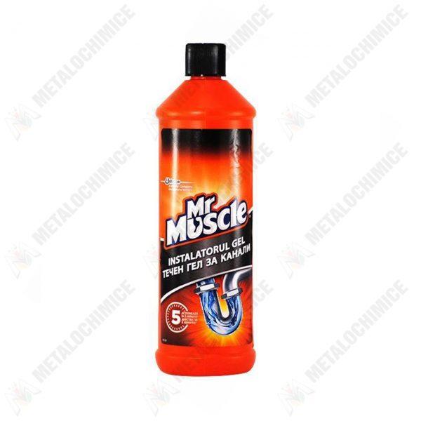 mr muscle gel pentru desfundarea tevilor din baie si bucatarie 1000ml 1 2