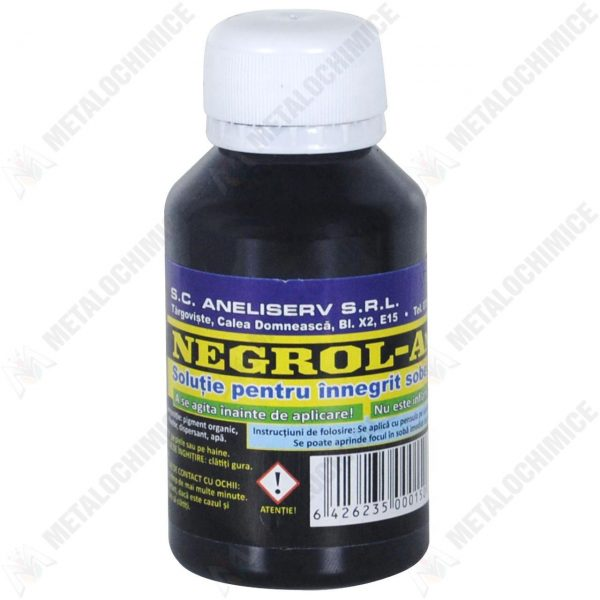 Negrol Aneli, Solutie pentru inegrit sobe cu plite, 100 ml
