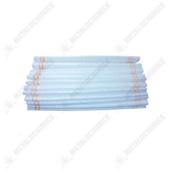 Pachet - (100 produse) Saci rafie albi cu dungi albastre 55x100 cm