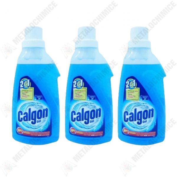 pachet 3 bucati calgon anti calcar gel 750 ml 1