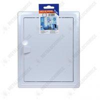 pachet 6 produse te ma usa de vizitare 200x250 mm den braven silicon universal alb 1001u 2
