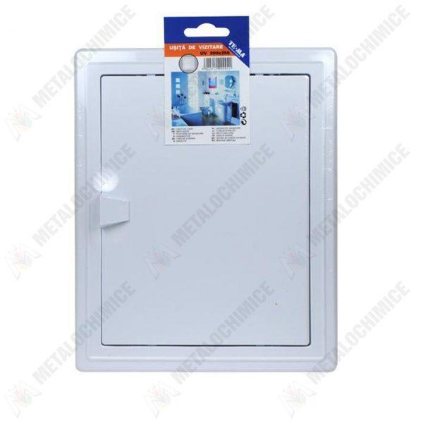 Pachet - (6 produse) TE-MA Usa de vizitare 200x250 mm, Den Braven Silicon universal alb 1001U