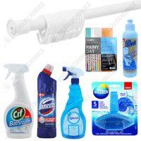 pachet 7 produse perdea pentru cada si curatenie baie 1