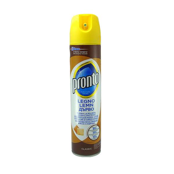 pachet pronto classic spray pentru curatat mobila 3 x 400ml 6 x laveta microfibre universala 30 x 30cm pronto lemn 750ml pronto pentru gresie piatra 2
