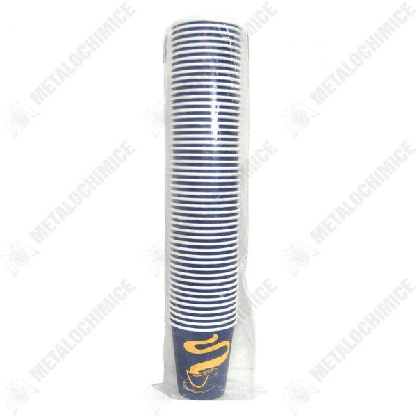 Pahare unica folosinta din carton pentru cafea