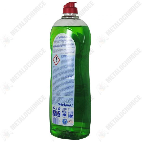 Detergent vase Pur Mar verde 900ml