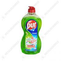 pur power gel double decruster detergent de vase apple 450 ml 1
