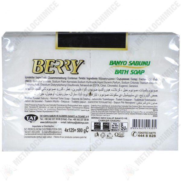 Sapun de rufe Berry 4 x 125g