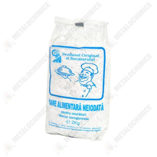 sare grunjoasa neiodata alimentara 2kg