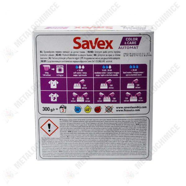 savex-color-brightness-color-care-detergent-de-rufe-automat-300-g-2