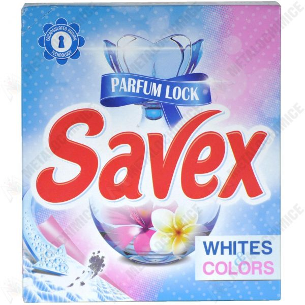 Detergent rufe automat Savex white & colors