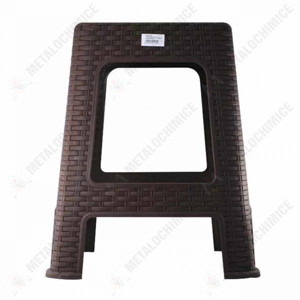 scaun terasa plastic imitatie ratan maro 2