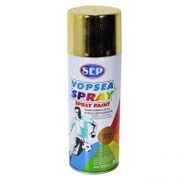 SEP Vopsea spray pentru lemn, metal, Auriu, 450ml  din categoria Sprayuri Vopsea