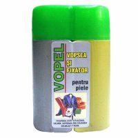 Pachet - 2 x Vopel gri, Vopsea pentru piele si fixator + 4 x Acetona, Dizolvant, 50 ml + Dischete curatat 70 buc.  din categoria Vopsele piele