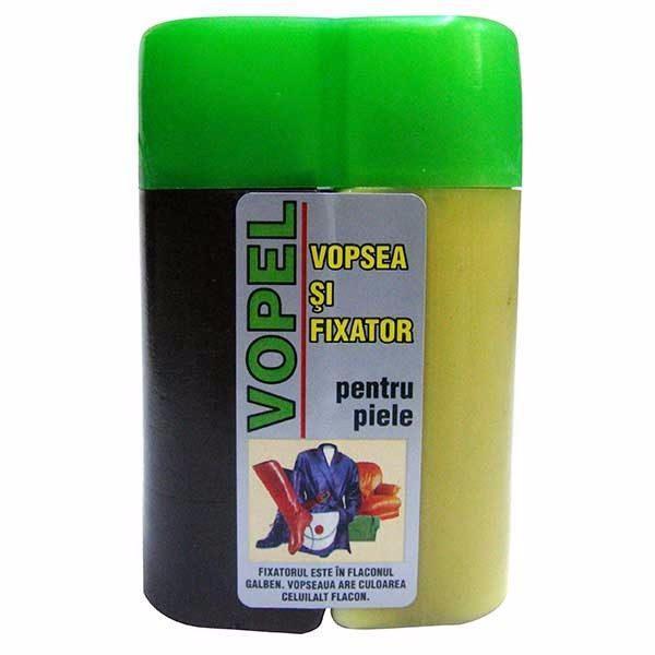 Vopsea pentru piele maro Vopel 130 g  din categoria Vopsele piele