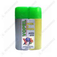 vopel vopsea pentru piele naturala auto gri 130 g 1