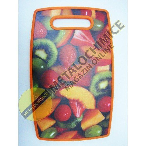 Tocator dreptunghiular fructe din plastic