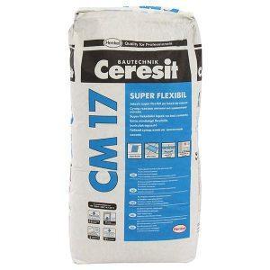 Adeziv gresie si faianta CM 17 - 25 kg