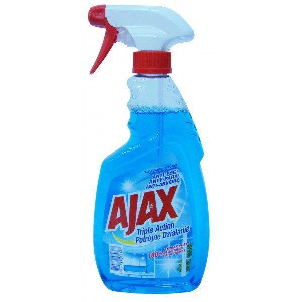 Ajax solutie geamuri 500ml Triple action