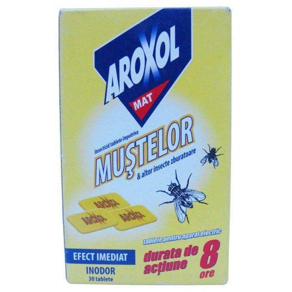 Aroxol Mat, pastile impotriva mustelor si tantarilor 30 buc