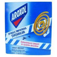 Pachet 5 cutii - Aroxol spirale impotriva tantarilor, mustelor, 5x10buc/cutie  din categoria Aparate impotriva insectelor