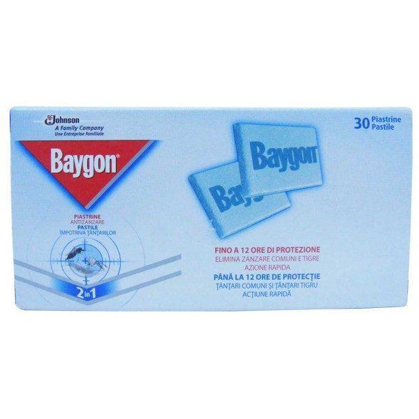 Baygon pastile tantari 30buc.