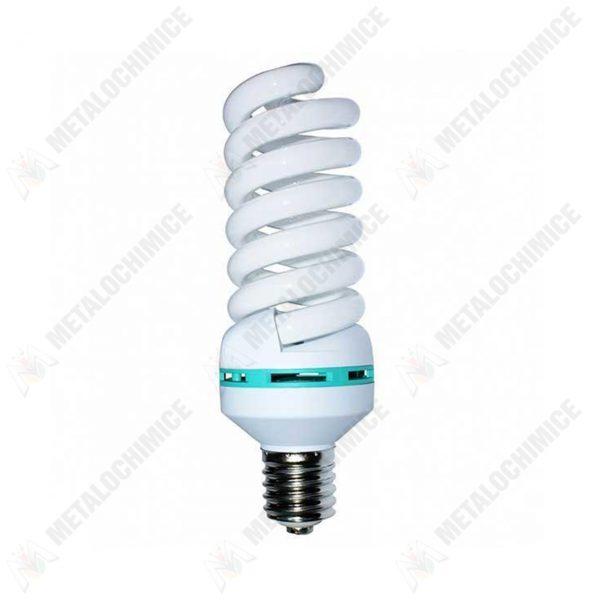 Bec economic fluorescent, E27, lumina rece, spirala, 75W  din categoria Becuri led si economice