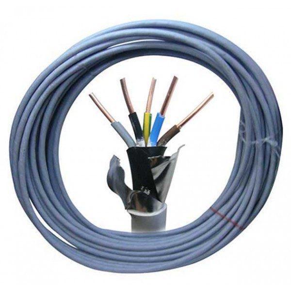 Cablu cupru CYABY-F 5x10 mm, 35 m