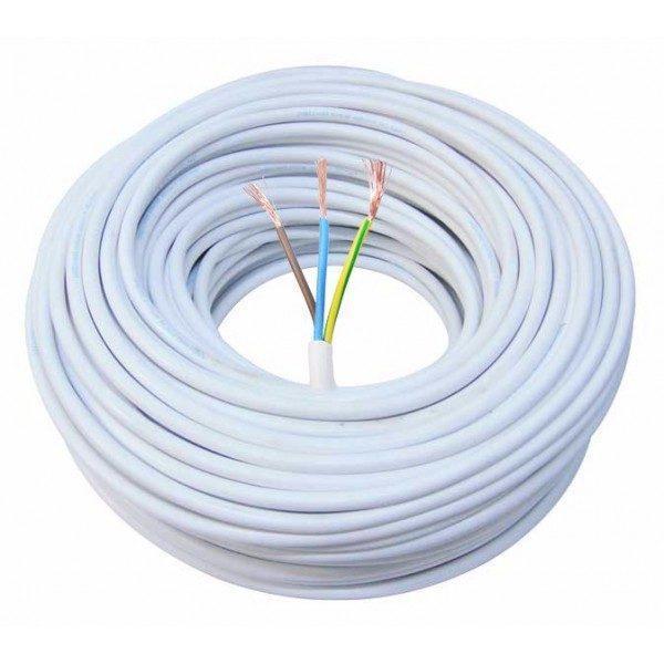 Cablu litat 3x1.5 mm MYYM – 100m – H05VV-F