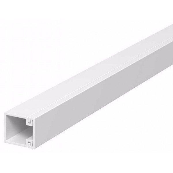 Canal cablu PVC 16X16mm Bara/2m cu banda adeziva