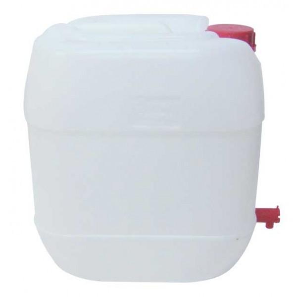 Canistra din plastic cu robinet, Maner si capac, 30L