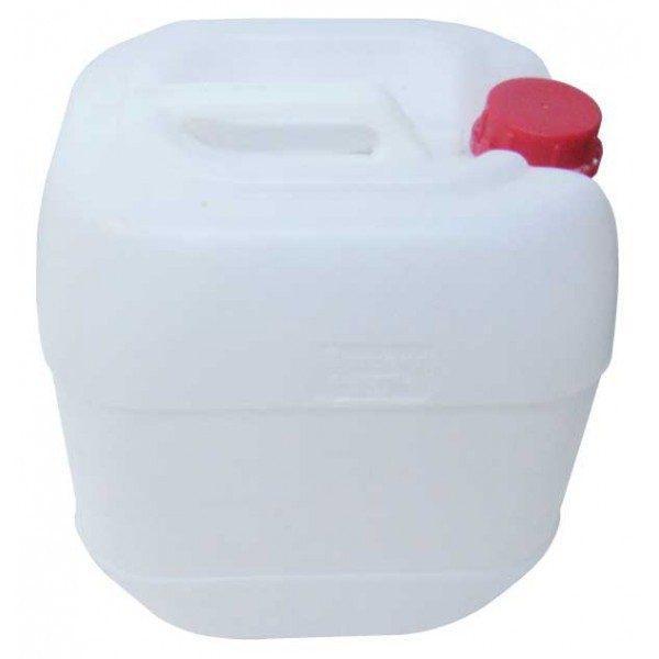 Pachet - 4 x Canistra 10L din plastic alimentar, Bidon cu maner si capac + Perie pentru spalat canistre + Furtun pentru tras vin 1.5m