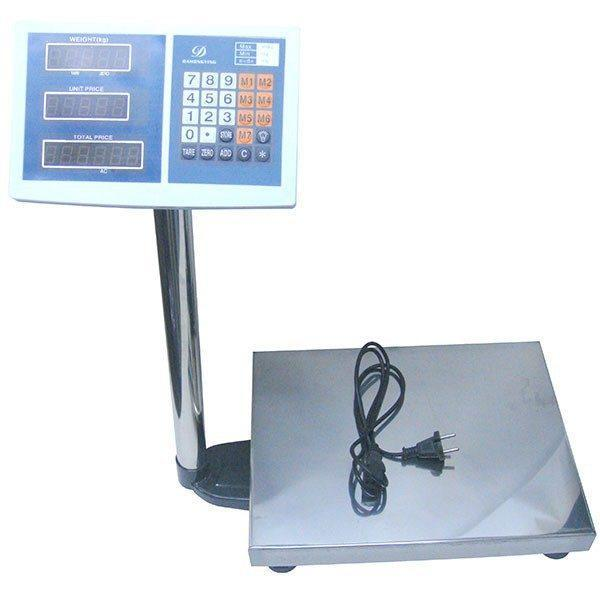 Cantar electronic, 220V, 40cm x 30cm, 100Kg 1
