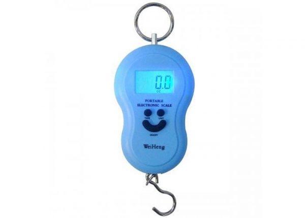 Cantar electronic, albastru, portabil, baterii, 40Kg 1