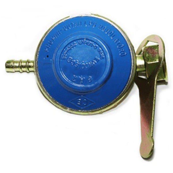 Pachet - Arzator patrat 24.5 x 24.5cm + 2m furtun pentru gaz + 2 x coliere pentru furtun + Ceas pentru butelie