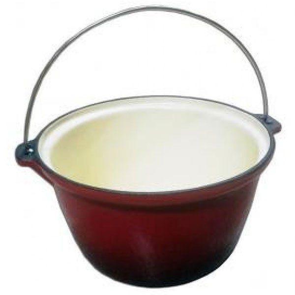 Ceaun fonta emailat 22cm / 3 litri - Tuci fonta 1