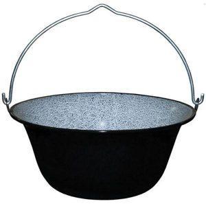 Ceaun tabla emailata 38cm/13 litri, tuci