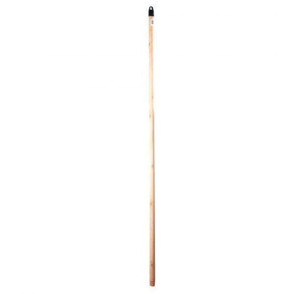 coada lemn natur cu filet din lemn 120cm