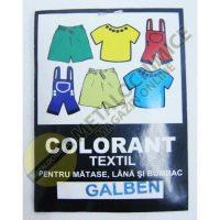 Colorant textil, Galus, Galben, 10g