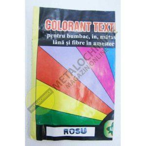 Colorant textil, Galus, Rosu, 10g