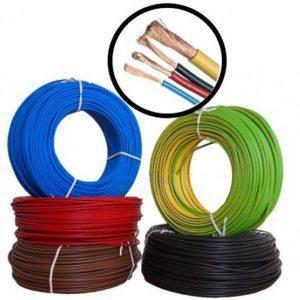 Conductor MYF 2.5 mm - 100M - Cablu curent cupru litat - H07V-K