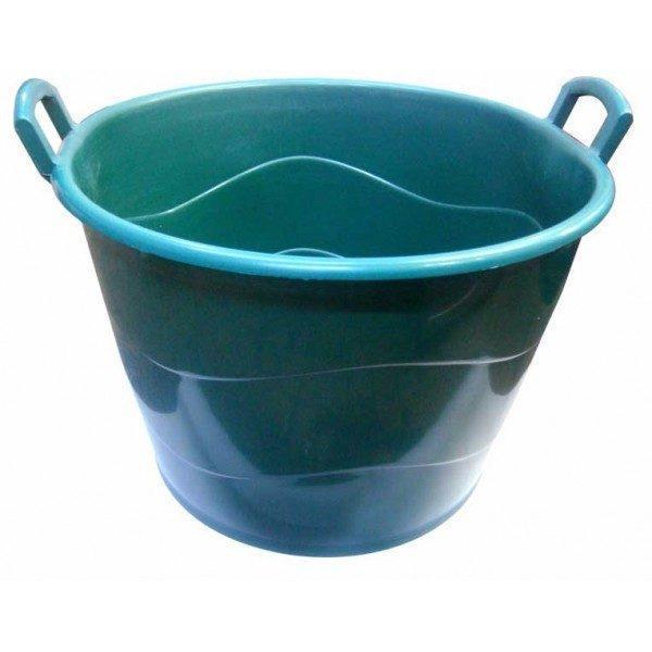 Pachet 6 bucati - Cos 50L din plastic alimentar cu manere, Cos damigeana, Recipient pentru cules struguri, Legume, fructe, etc