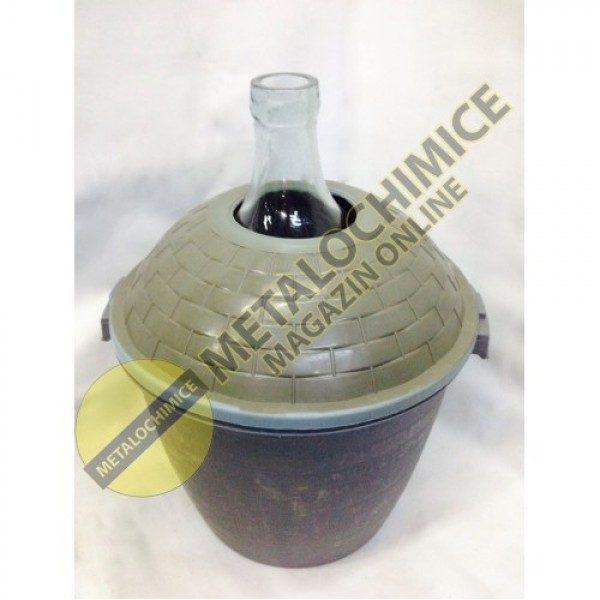 Damigeana 25 litri in cos din plastic 1