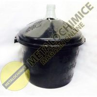 Damigeana 50 litri in cos din plastic negru