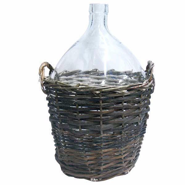 Pachet - 2 x Damigeana 10L din sticla, Cu cos din rachita + 2 x Dop damigeana, Din cauciuc + 2 x Dop damigeana cu serpentina + 2 x Dop damigeana cu furtun + 1 x Perie damigeana + 1 x palnie mare + 1.5m furtun pentru tras vinul