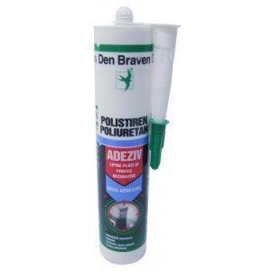 Den Braven silicon pentru lipit polistiren 280ml
