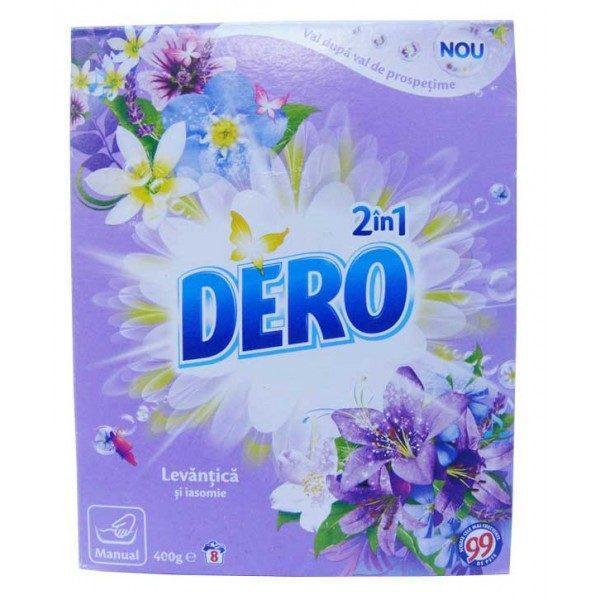 Detergent rufe, Dero Ozon +, manual, Levantica si iasomie, 400g 1