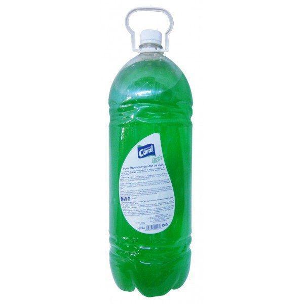 Pachet 4 bucati - Detergent de vase, Marine Coral, Mar Verde, 4 x 3L