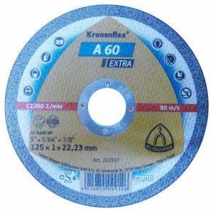 Disc Kronen, Panza Flex taiat metal 125x1x22.23mm