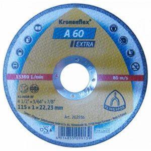 Disc Kronen, Panza Flex taiat metal / inox 115x1x22.23mm